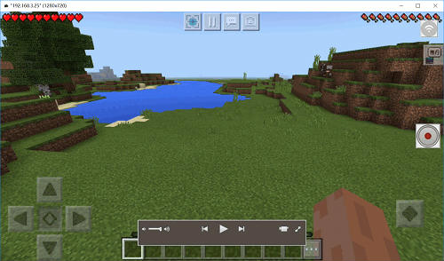 Grabar Minecraft PE
