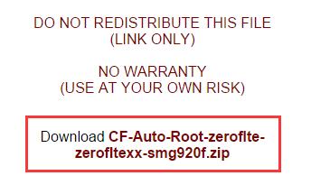 Descargar CF Auto Root