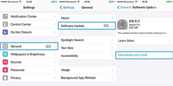 Actualizar iOS