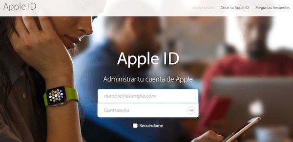 Administrar Apple ID