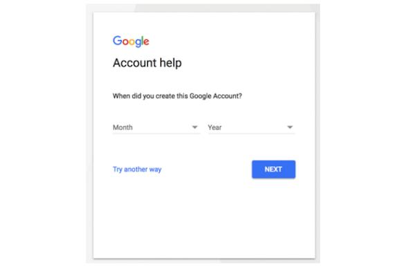 Ayuda de cuenta de Gmail