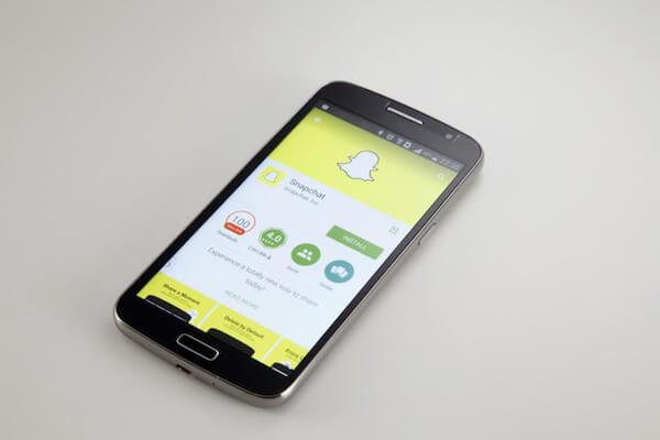 borrar cuenta de Snapchat