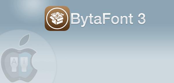 Cambiar letras con BytaFont 3