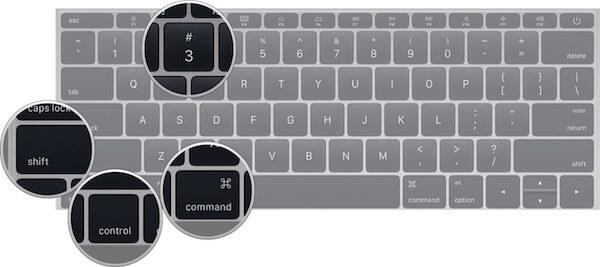 Capturer con command shift control 3