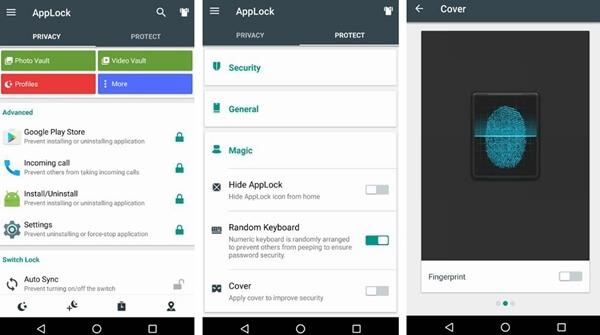 cerradura android applock