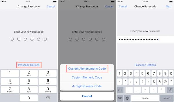 Código alfanumérico personalizado