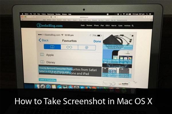 como hacer screenhot en mac