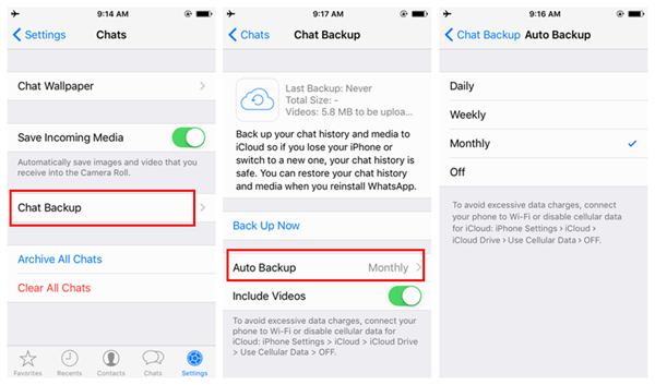 copia automatica mensajes whatsapp