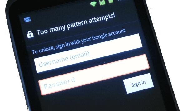 desbloquear android con cuenta google