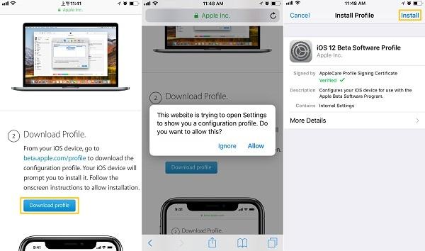 descargar iOS 12 Beta