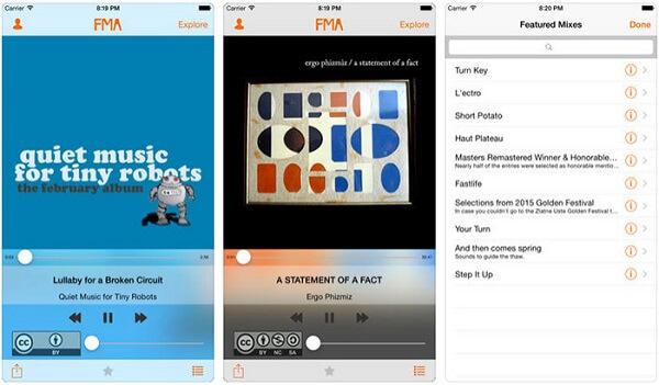 Descargar música de fma