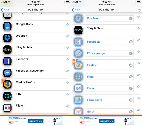 elegir apps quieres personalizar
