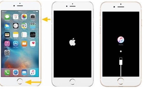 entrar en modo de recuperación en iPhone