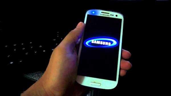 galaxy atascado en pantalla de reinicio