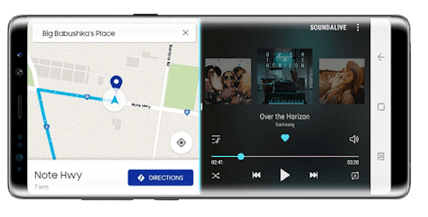 Galaxy Note 8 pantalla