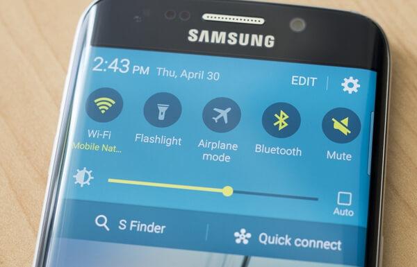 Ajuste rápido Galaxy S8