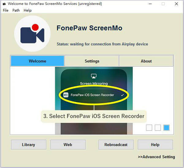 grabar pantalla iPhone en PC