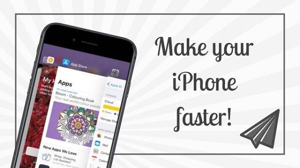 Hacer más rápido iPhone