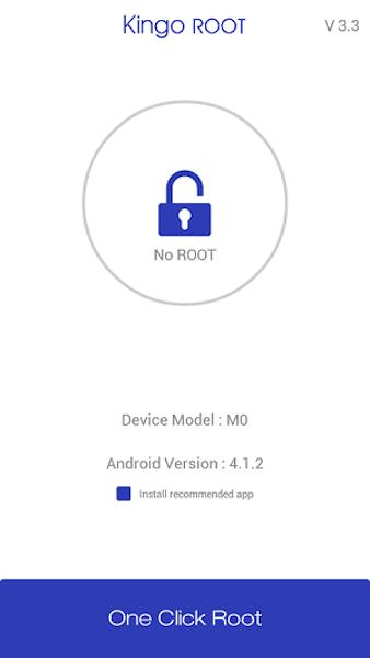 Kingoroot App comprobar acceso de rooteo