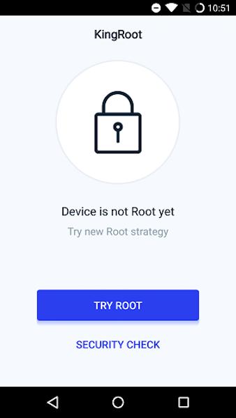 Kingoroot App empezar rooteo