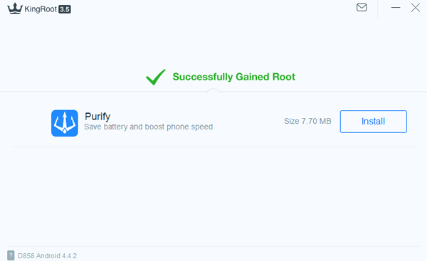 Root Android con King Root