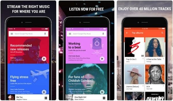 Música de Google Play Music