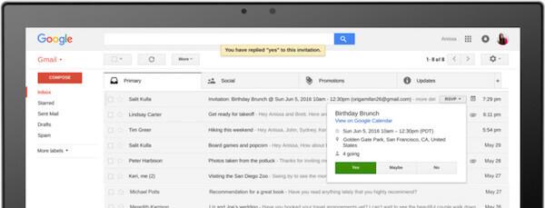 No poder cargar gmail