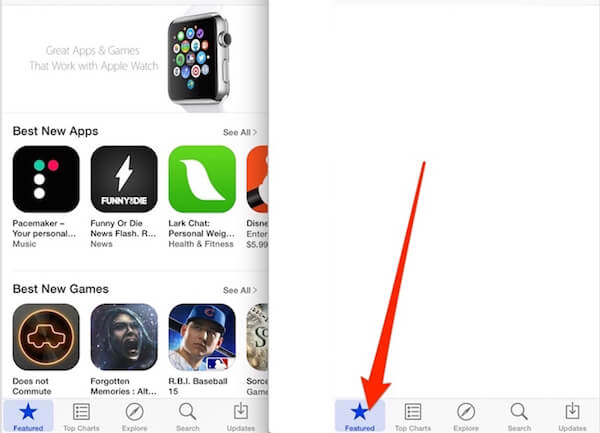 Recargar App Store