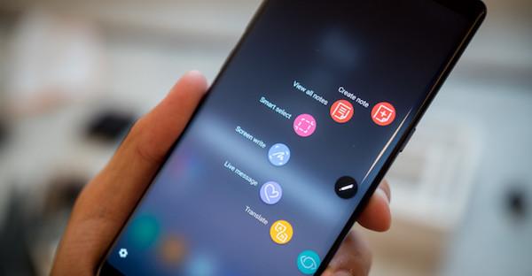seleccion inteligente para sacar pantallazo Samsung
