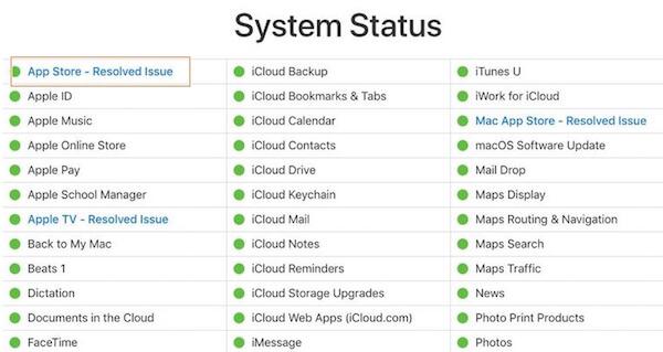 Verificar App Store