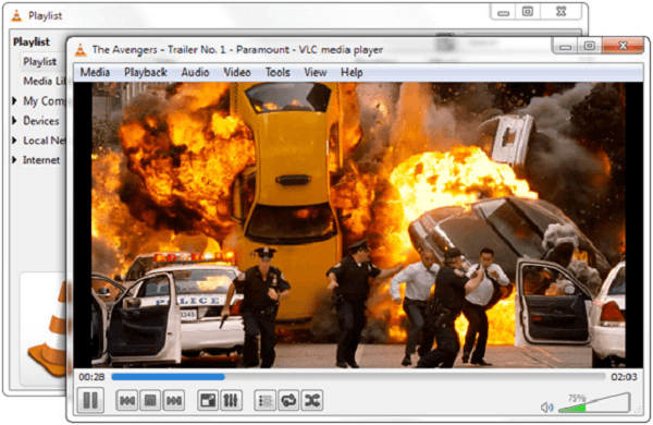 VLC reproductor