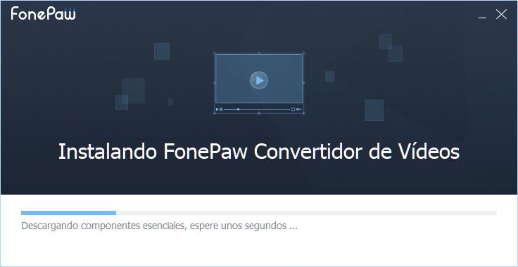 Está instalando FonePaw convertidor de videos